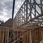 Crane Rental for setting trusses